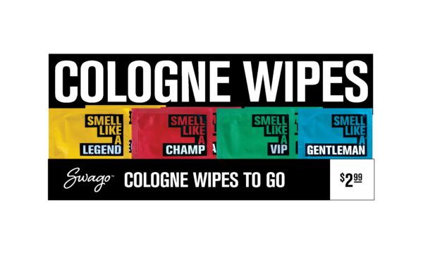 swago cologne wipes box