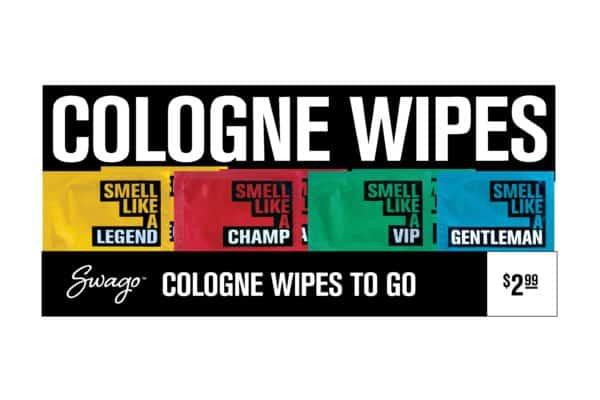 swago cologne wipes box
