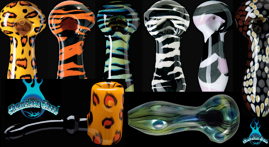 Chameleon Glass Safari Series