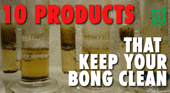 10 BEST Bong Cleaning Products and Where to Buy | UPDATED 2019