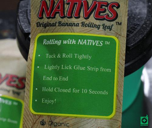 natives banana rolling leaf